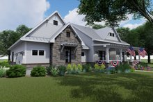 House Design - Farmhouse Exterior - Front Elevation Plan #120-256