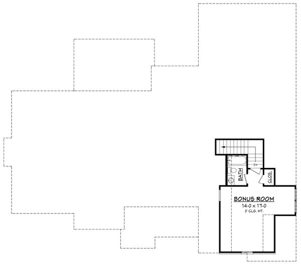Craftsman Floor Plan - Other Floor Plan Plan #430-155