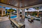 Mediterranean Style House Plan - 5 Beds 5.5 Baths 8001 Sq/Ft Plan #548-5 Exterior - Outdoor Living