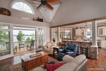 Craftsman Interior - Family Room Plan #929-26