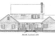 Farmhouse Style House Plan - 4 Beds 2.5 Baths 2433 Sq/Ft Plan #11-213 Exterior - Rear Elevation