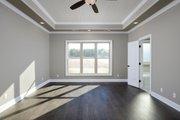 Tudor Style House Plan - 4 Beds 3.5 Baths 2342 Sq/Ft Plan #45-372 Interior - Master Bedroom