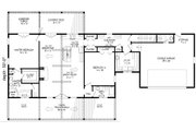 Country Style House Plan - 2 Beds 2 Baths 2137 Sq/Ft Plan #932-77 Floor Plan - Main Floor
