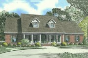 Traditional Style House Plan - 4 Beds 3 Baths 2493 Sq/Ft Plan #17-1176