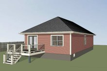 Dream House Plan - Cottage Exterior - Other Elevation Plan #79-129