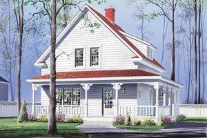 Farmhouse Exterior - Front Elevation Plan #23-214
