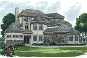 Traditional Style House Plan - 5 Beds 5.5 Baths 7017 Sq/Ft Plan #453-48 Exterior - Other Elevation