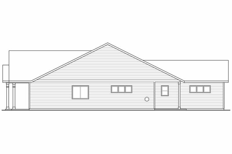 Craftsman Exterior - Other Elevation Plan #124-899 - Houseplans.com