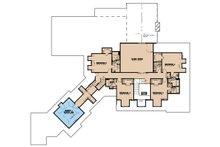Country Floor Plan - Upper Floor Plan Plan #923-42