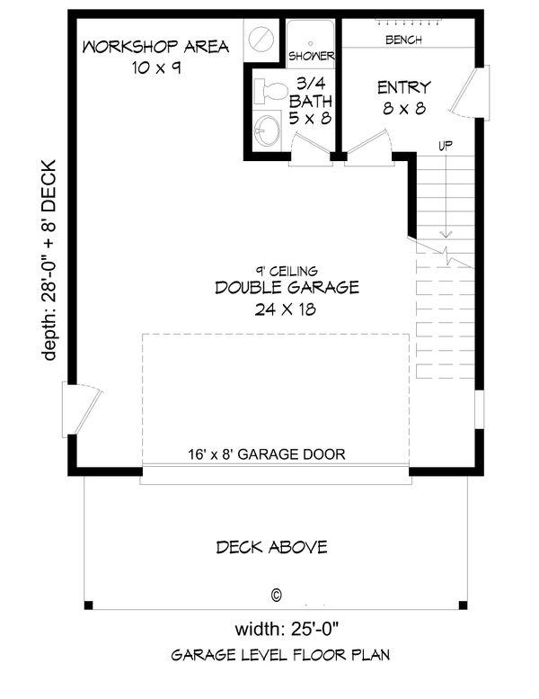 Dream House Plan - Contemporary Floor Plan - Main Floor Plan #932-216