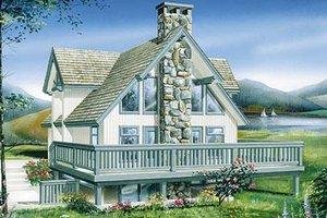 Modern Exterior - Front Elevation Plan #47-189