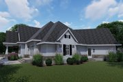 Farmhouse Style House Plan - 3 Beds 2.5 Baths 2504 Sq/Ft Plan #120-255 Exterior - Other Elevation