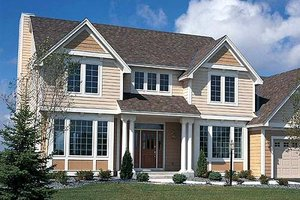 Traditional Exterior - Front Elevation Plan #312-146