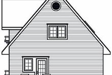 Home Plan - European Exterior - Rear Elevation Plan #23-868