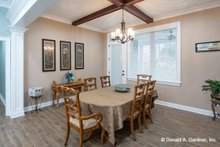Home Plan - Ranch Interior - Dining Room Plan #929-1050
