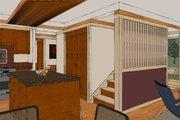 Craftsman Style House Plan - 2 Beds 2 Baths 1600 Sq/Ft Plan #454-13 Interior - Kitchen
