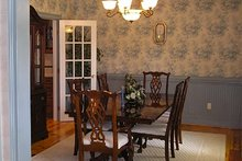 Architectural House Design - Victorian Interior - Dining Room Plan #137-249
