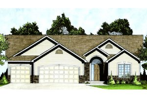 House Design - Traditional Exterior - Front Elevation Plan #58-209