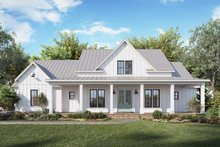 House Plan Design - Farmhouse Exterior - Other Elevation Plan #1074-30