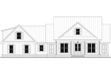 Home Plan - Farmhouse Exterior - Front Elevation Plan #430-218