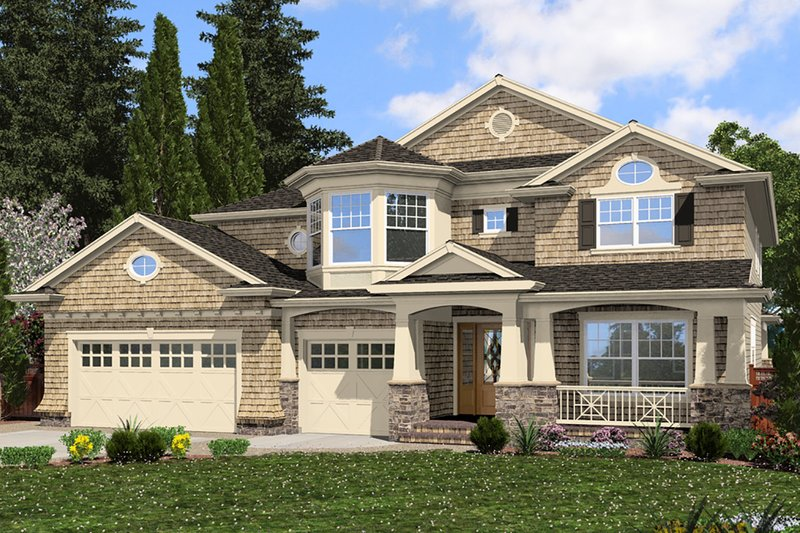 House Design - Traditional Exterior - Front Elevation Plan #132-569