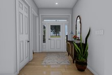 House Plan Design - Craftsman Interior - Entry Plan #1060-53