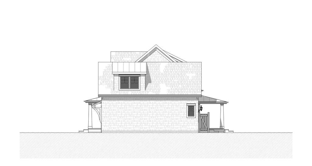 craftsman style house plan  ft