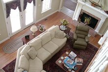 Country Interior - Family Room Plan #137-143