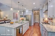 Ranch Style House Plan - 3 Beds 2 Baths 1908 Sq/Ft Plan #929-1013 Interior - Kitchen
