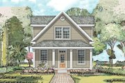 Farmhouse Style House Plan - 3 Beds 2.5 Baths 2259 Sq/Ft Plan #424-203 Exterior - Front Elevation