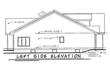 Home Plan - Traditional Exterior - Other Elevation Plan #20-123