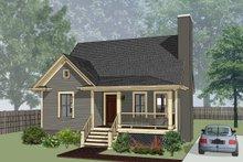 Dream House Plan - Cottage Exterior - Front Elevation Plan #79-155