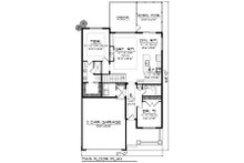 Ranch Floor Plan - Main Floor Plan Plan #70-1497