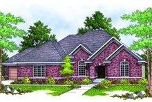 Dream House Plan - European Exterior - Front Elevation Plan #70-810