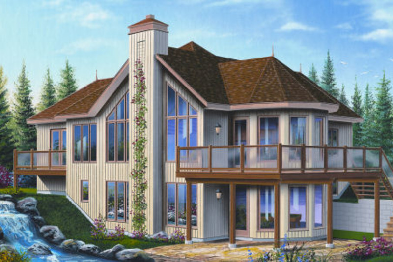 Traditional Exterior - Front Elevation Plan #23-2286