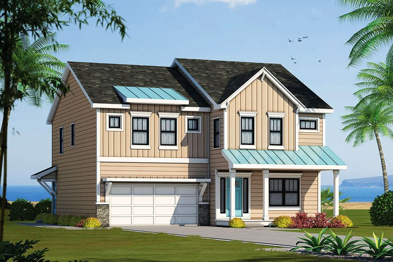 House Plan Design - Traditional Exterior - Front Elevation Plan #20-2327