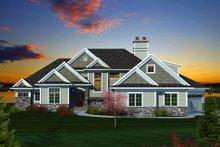 Dream House Plan - Craftsman Exterior - Front Elevation Plan #70-1130