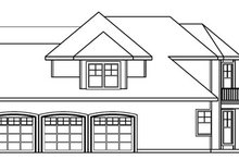 Dream House Plan - European Exterior - Other Elevation Plan #124-722