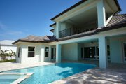 Beach Style House Plan - 4 Beds 4.5 Baths 4181 Sq/Ft Plan #548-20 Exterior - Rear Elevation
