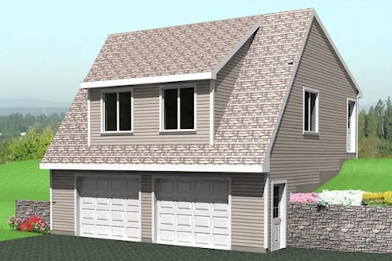 Modern Style House Plan - 0 Beds 0 Baths 1499 Sq/Ft Plan #75-213 Exterior - Front Elevation