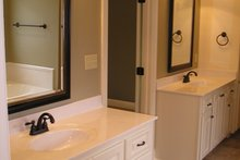 House Plan Design - European Interior - Master Bathroom Plan #430-52