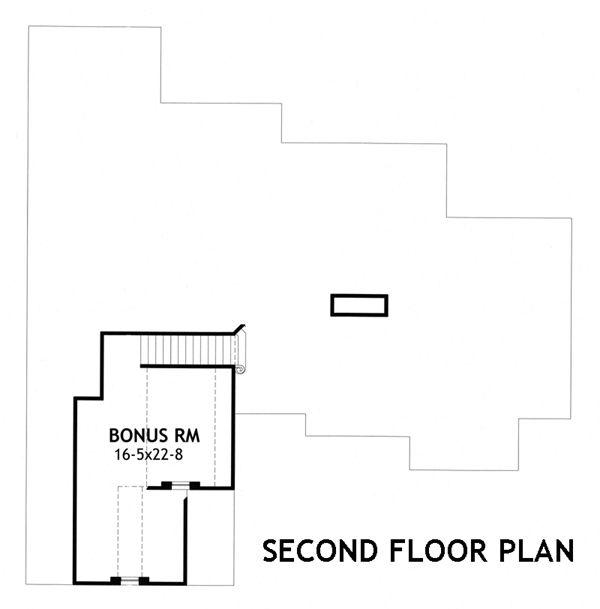 Craftsman Floor Plan - Other Floor Plan #120-176