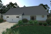 Farmhouse Style House Plan - 3 Beds 2.5 Baths 2393 Sq/Ft Plan #120-253 Exterior - Other Elevation