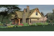 Craftsman Style House Plan - 3 Beds 2 Baths 1421 Sq/Ft Plan #120-174 Exterior - Other Elevation