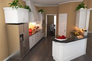 Southern Style House Plan - 4 Beds 2.5 Baths 2200 Sq/Ft Plan #21-264 Interior - Kitchen