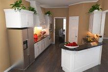 Southern Interior - Kitchen Plan #21-264