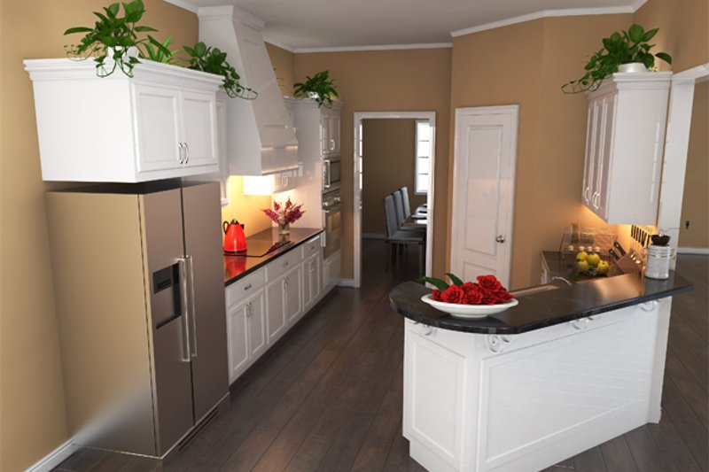 Southern Interior - Kitchen Plan #21-264 - Houseplans.com