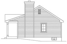 House Plan Design - Cottage Exterior - Other Elevation Plan #22-596