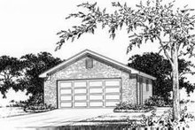 Traditional Exterior - Front Elevation Plan #22-441