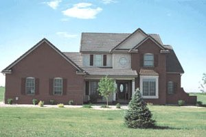 Traditional Exterior - Front Elevation Plan #20-220